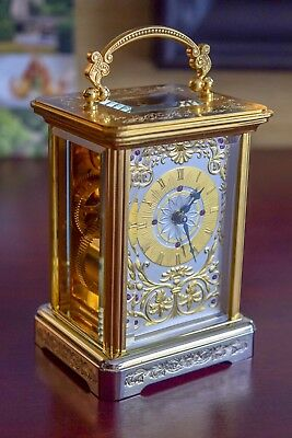 Igor Carl Faberge carriage clock limited edition