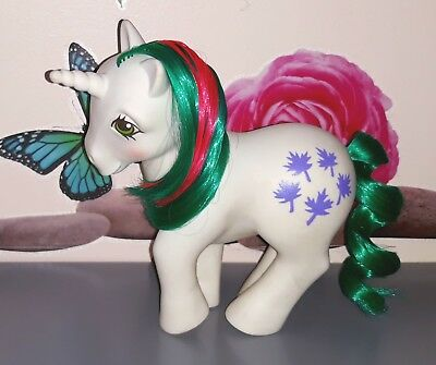 My Little Pony Mon Petit Poney Hasbro G1 1984 Gusty Unicorn Hk