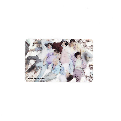 [GOT7]3rd Album Present:You Official Clear Photocard/GROUP/Preorder Gift