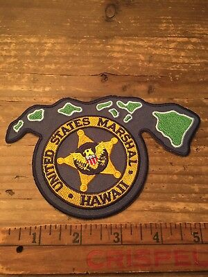 United States Marshal Hawaii Patch Law Enforcement Collectible