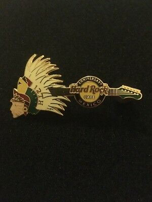 Hard Rock Cafe HRC PIN Mexico 12th Anniversary Guitar/Gitarre