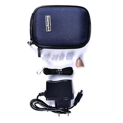 1 Set Rechargeable Digital Mini In Ear Hearing Aid Adjustable Tone TH