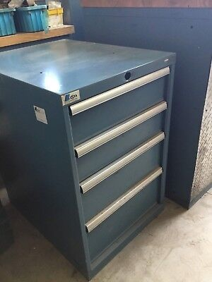 """LISTA 4 Drawer Industrial Tool Cabinet 23"""" x 29"""" x 34"""""""