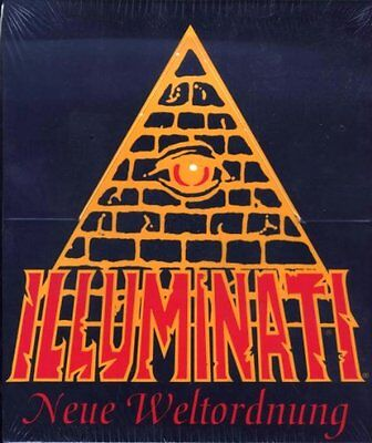 INWO Illuminati Neue Weltordnung deutsch german limited Steve Jackson Games TCG