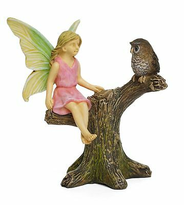 Miniature Dollhouse FAIRY GARDEN - Owl Roost - Accessories