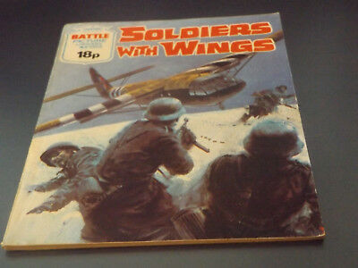 BATTLE PICTURE LIBRARY NO 1353,dated 1980!,V GOOD FOR AGE,VERY RARE,38 yrs old.