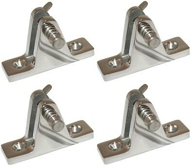 Boat Canopy Mount Fitting Quick Release Pin Stainless 35mm Bimini x 4
