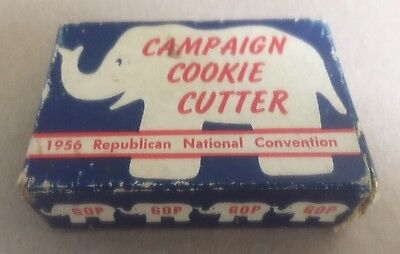 1956 REPUBLICAN NATIONAL CONVENTION ELEPHANT Shape Cookie Cutter - RNC / IKE