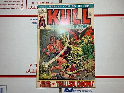 Kull the Conqueror #3 (July, 1971 first series) Marvel Comics