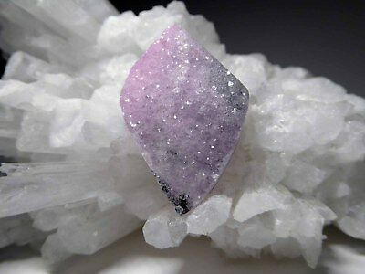 Pink Gemstone Drusy Coboltoan Calcite Natural Crystal Cabochon or Bead