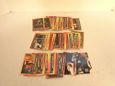 1992 Topps Batman Returns Complete 88 Trading Card 10 Stadium Club Card Set