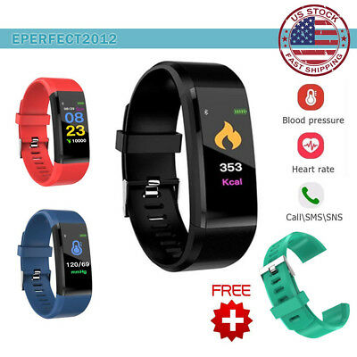 Bluetooth Smart Bracelet Watch Wrist Band IP67 Waterproof Sports Fitness Tracker