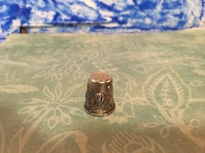 Pewter Thimble Hot Air Balloons. Signed