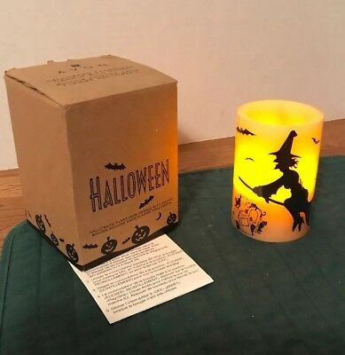 Avon Halloween Flameless Candle with Sound  2007, New in Box!