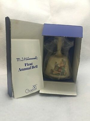 Mj Hummel Goebel Annual Bell Made In Germany 1978 1St Edition