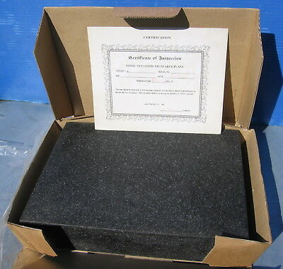 "Granite Surface Plate.  9x12x2""  9kg. Has not been used."