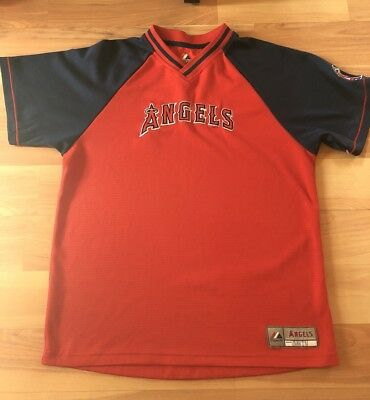 0a2615a0 0aad8 15c83; cheapest los angeles angels of anaheim jersey made by majestic  size xl youth boys 92d9e 21c51