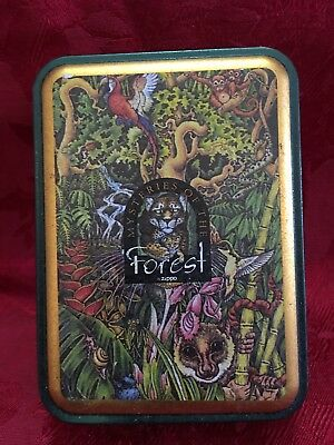 Zyppo Mysteries of The Forest Lighter Tin Box Vintage Empty
