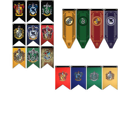 Harry Potter Gryffindor Slytherin Ravenclaw Hogwarts Bandiera Casa Drappo IT