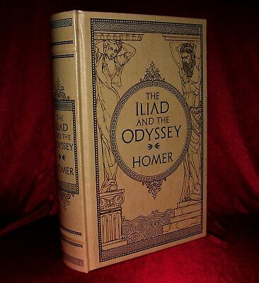 The Iliad And The Odyssey Homer Leather Bound Collectible