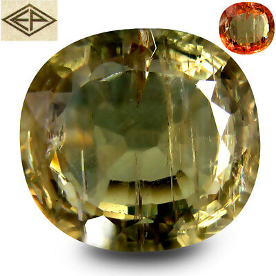 "31.63 ct ""EMIL"" CERTIFIED MARVELOUS TOP GREEN TO REDDISH PINK COLOUR DIASPORE"