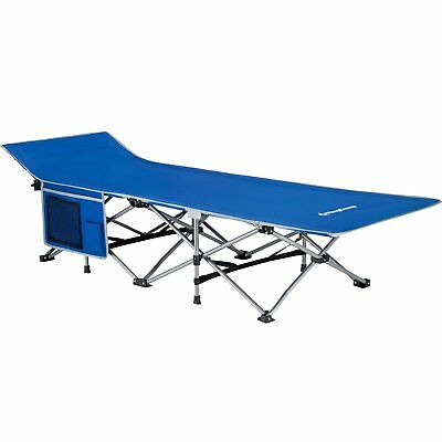 Camping Cots For Adults Compact Folding Bed Portable Collapsible Lightweight Pad