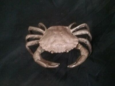 Antique Figural 1800s Solid Silver Crab Amazing