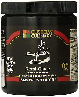 Custom Culinary Master's Touch Concentrate, Demi Glace Sauce, 13.6 Ounce