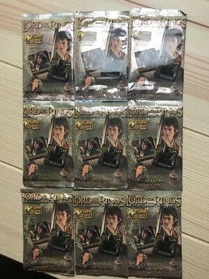 9 x Lord of the Rings Action Flipz!! Fellowship of the Ring! Unopened!! 3-D