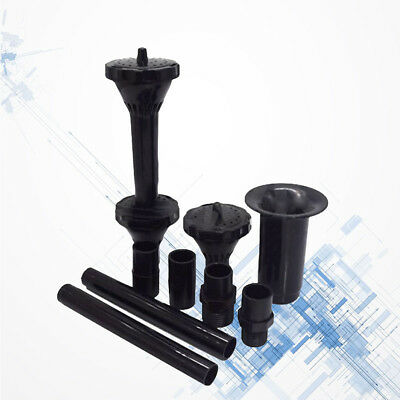 Fountain Pump Nozzle Waterfall Garden Plastic Multifunction Spray Heads for Pool