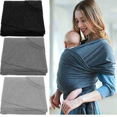 Ajustable Organic Cotton Wrap Sling Baby Carrier babywearing Breastfeeding Pouch