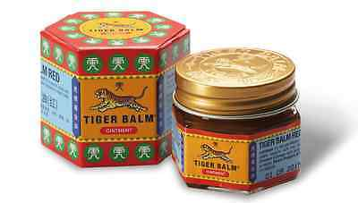 Tiger Balm 8 Gram Jar Made in India Red Ayurvedic for muscular and joint pain