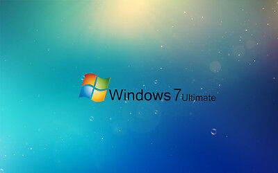 Microsoft  Windows 7 Ultimate 32/64-Bit License key only without media 1 PC