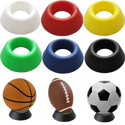Basketball Football Soccer Display Stand  Rack Holder Support Base For Box Case