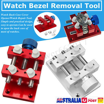 Watch Bezel Removal Opening Workbench Case Opener Repair Tool Kit for Watchmaker