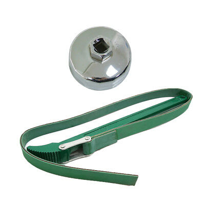 """12"""" Universal Oil Filter Strap Spanner Wrench Auto Car Repair Removal Tools New"""