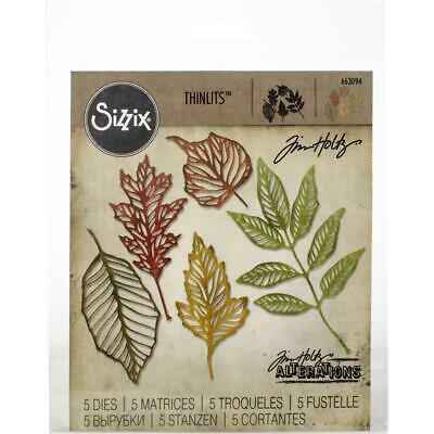 Tim Holtz Thinlits - Die Cutting Set by Sizzix - Skeleton Leaves - NEW!