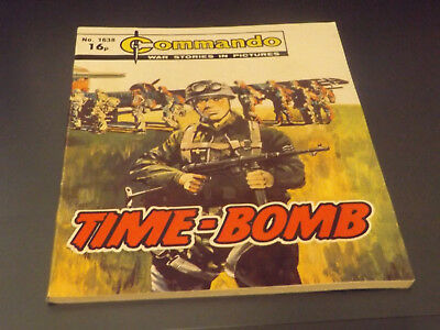 Commando War Comic Number 1638!,1982 Issue,v Good For Age,36 Years Old,very Rare
