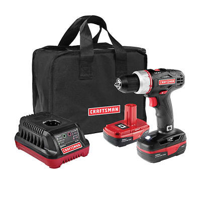 Craftsman 19.2V Drill/Driver with 2 Batteries (5275.1) & New - Free Shipping