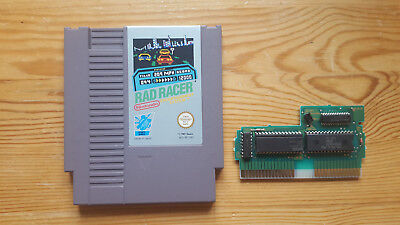 Rad Racer - Nintendo NES - Cart and Sleeve - PAL