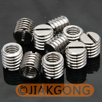 "10pcs 1/4"" Female to 3/8"" Male screw Adapter TN-2"