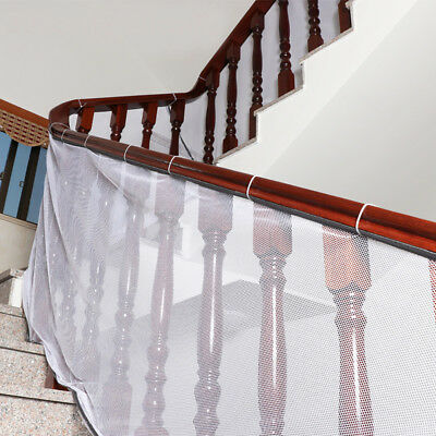 Safety Child Railnet Net Pet Guard Baby Stair Balcony Deck Gate Dog Mesh Home