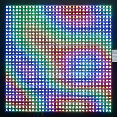 Adafruit 32x32 RGB Led Matrix Panel, 1024 Light Leds , 5mm Grid Dimension, 2026