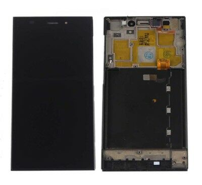 For Xiaomi 3 Mi 3 M3 WCDMA LCD Display Touch Screen Glass Digitizer Frame Black