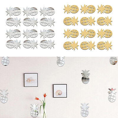 Novelty Mirror Surface Wall Sticker DIY Wall Art Mural Decal for Kid's Room