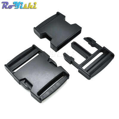 """2""""(50mm) Webbing Plastic Side Release Buckle for Hiking Camping Bags Luggage"""