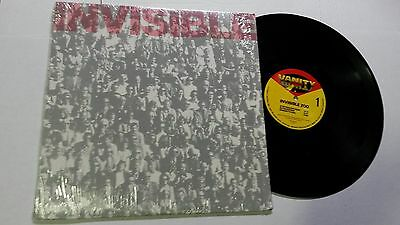 INVISIBLE ZOO - Self Titled s/t 1983 EP New Wave Synth Rock Power Pop EX EX