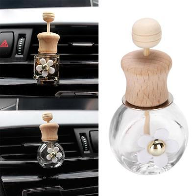 Home Car Hanging Air Freshener Perfume Fragrance Diffuser Empty Bottle
