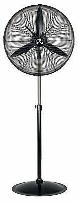 Professional industrial Wind machine Portable pedestal fan WM3 Stand Eco Black