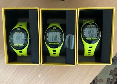 Soleus Tempo Sports Watch - lime